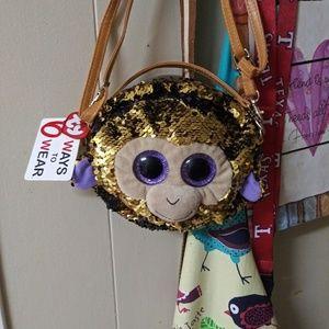 Ty monkey purse bnwt
